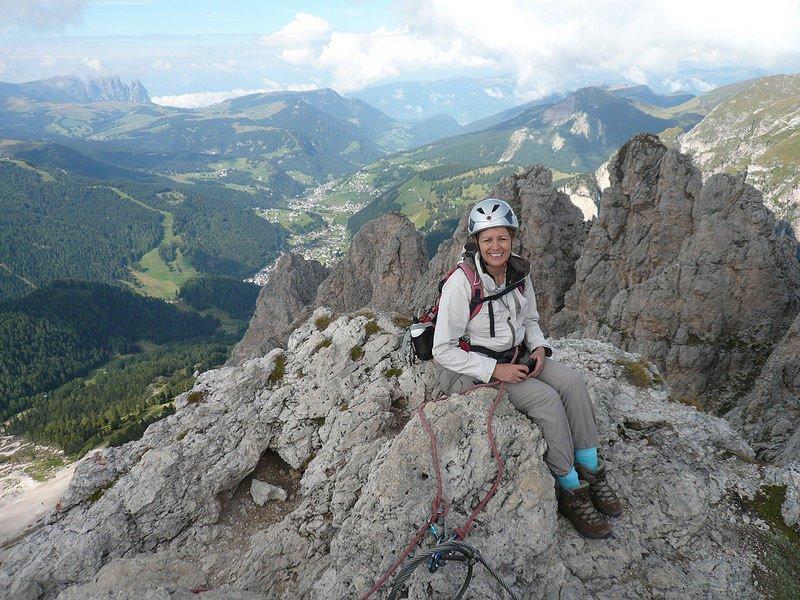 Via Ferrata in South Tyrol photo: Heatheronhertravels.com