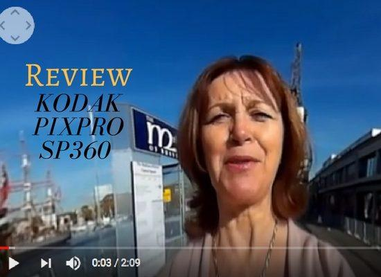 Read about the Kodak Pixpro SP360 video camera