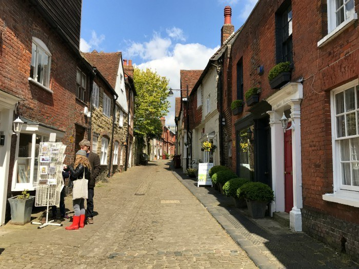 Lombard Street in Petworth, West Sussex