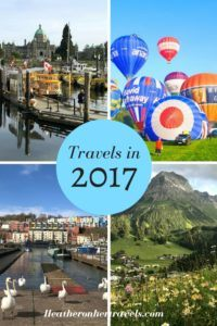 Read about where Heather travelled in 2017