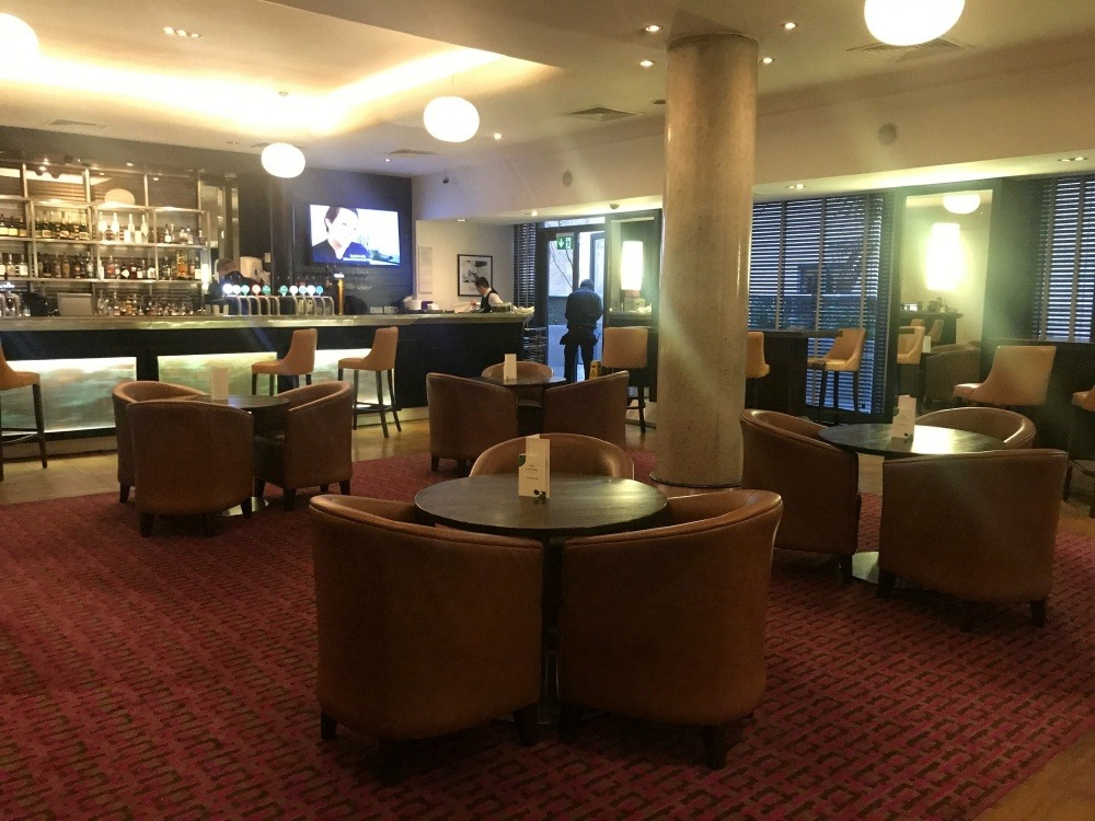 Bar at the Croke Park Hotel Dublin