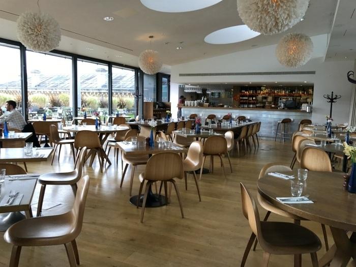 Cafe at Ashmolen museum in Oxford - weekend in Oxford Photo Heatheronhertravels.com