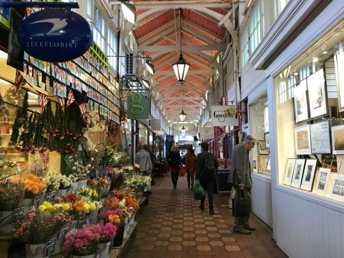 Covered Market in Oxford - weekend in Oxford photo Heatheronhertravels.com