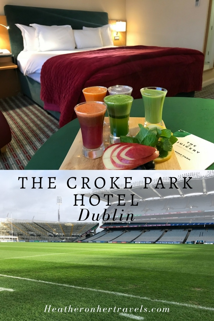 Read about Croke Park Hotel in Dublin and the Croke Park Stadium tour