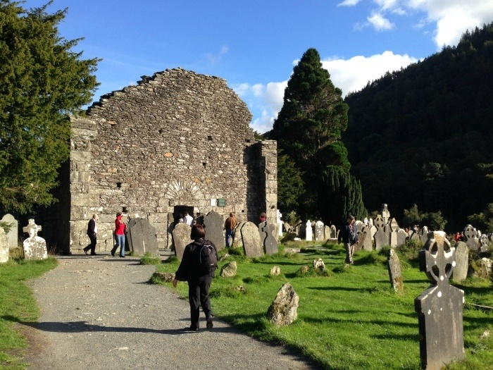 Glendalough monastery - Wicklow Ireland Photo: Heatheronhertravels.com