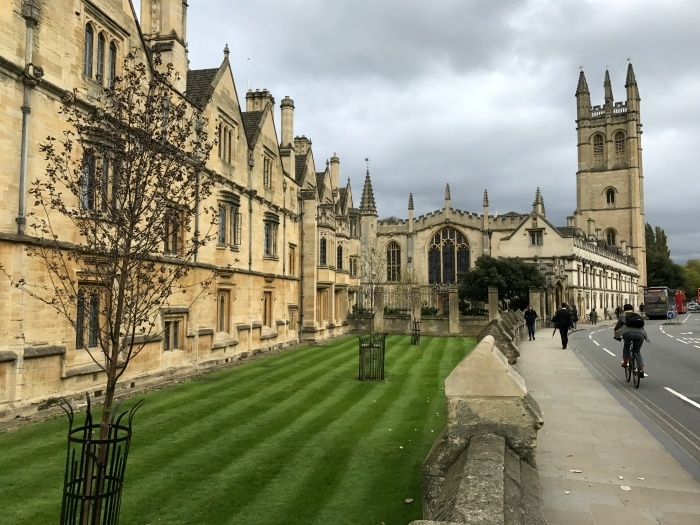 Magdalen College Oxford - 48 hours in Oxford Photo Heatheronhertravels.com