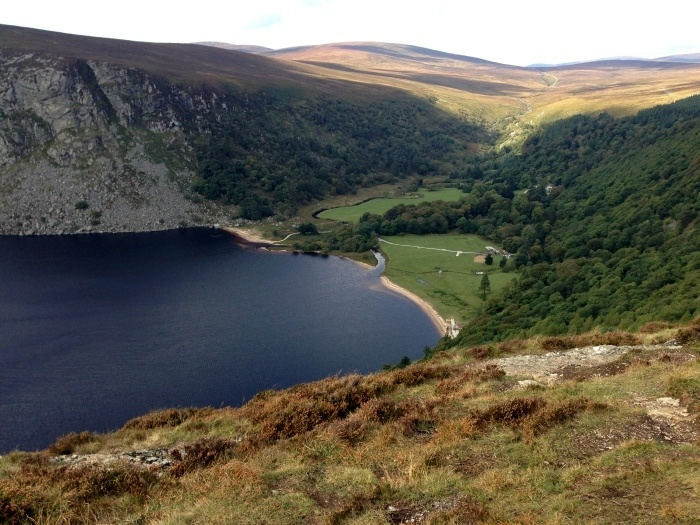 Sally Gap in Wicklow Ireland - PS I love you film locations Photo: Heatheronhertravels.com