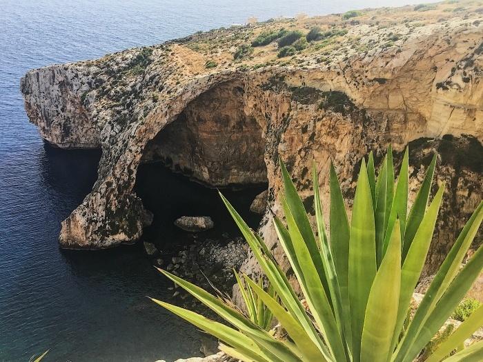 Blue Grotto Sea caves in Malta photo: Adam Cheshier