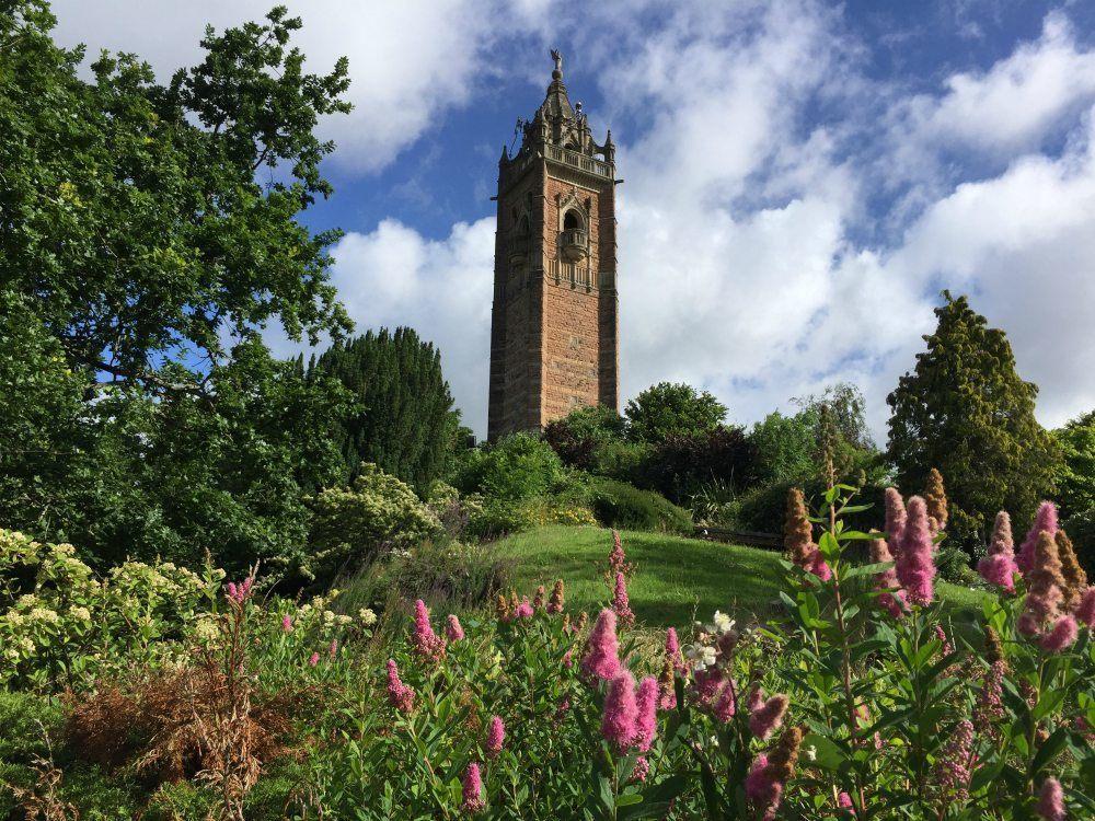 Cabot tower in Bristol