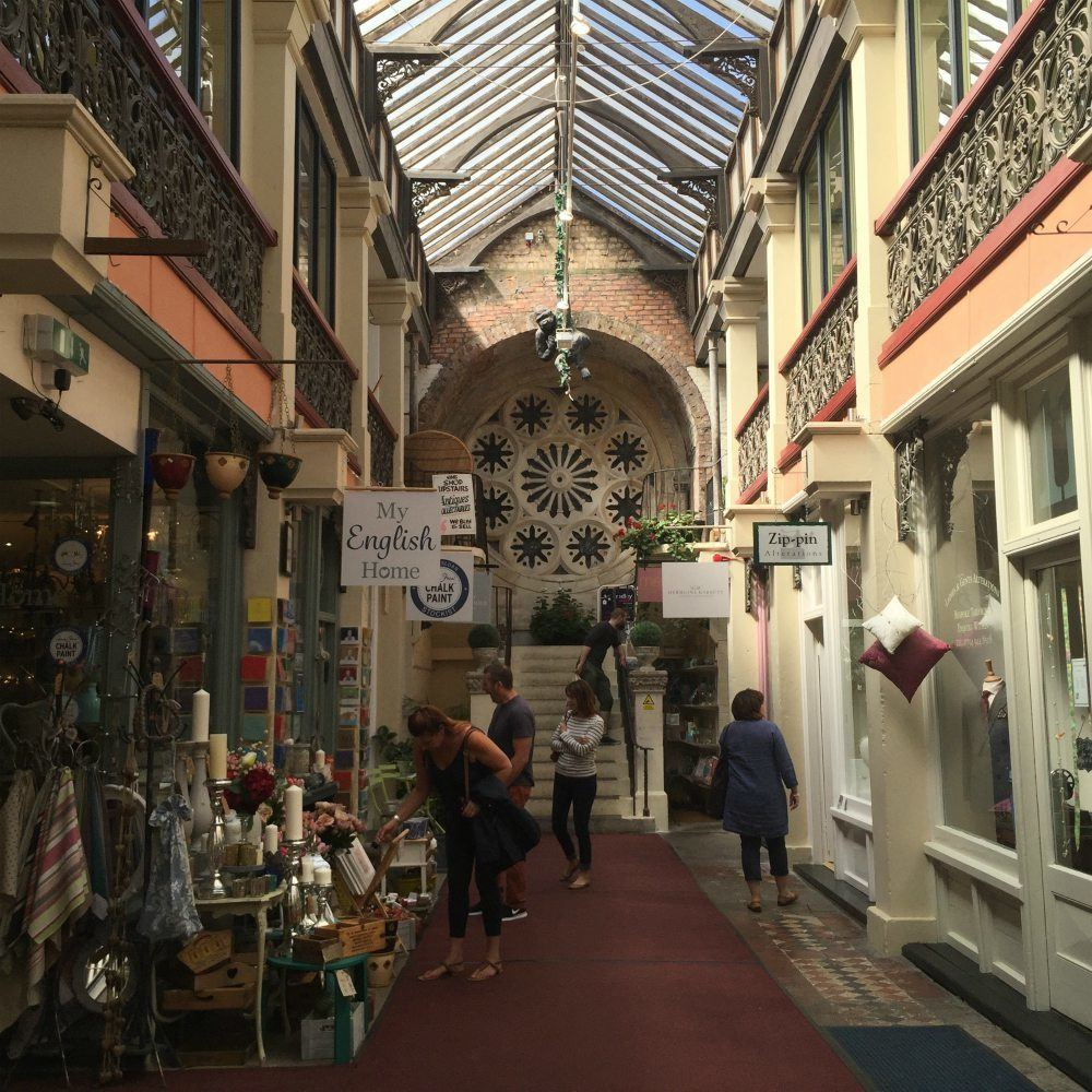Cifton arcade in Bristol