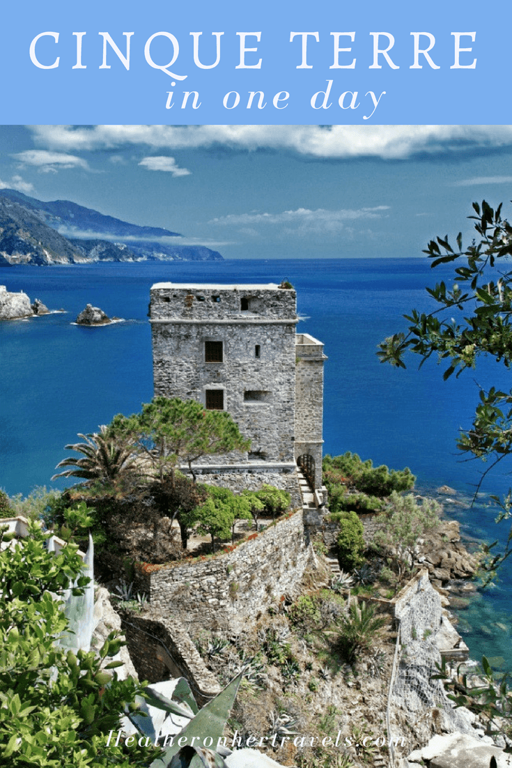 Read how to see Cinque Terre in One day with a Florence day trip to Cinque Terre