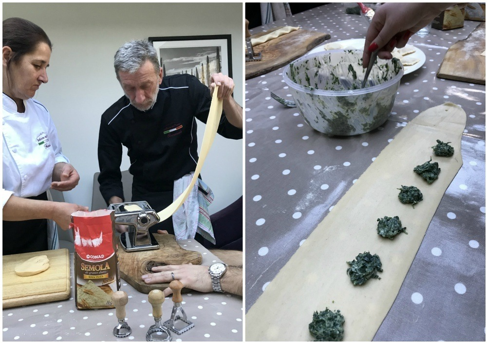 Tuscany food - Making fresh pasta Tuscany cuisine Bookingsforyou