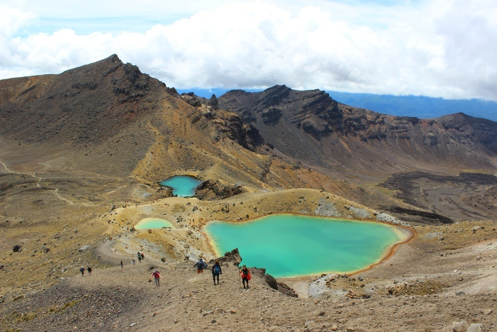 Tongariro in New Zealand North Island Itinerary