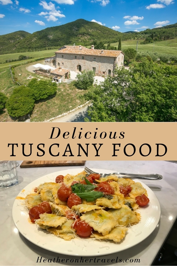 Read about delicious Tuscany food on your Italian Villa Holiday