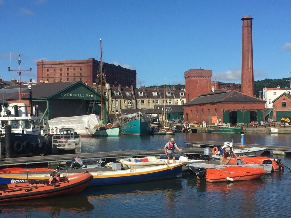 Underfall Yard in Bristol
