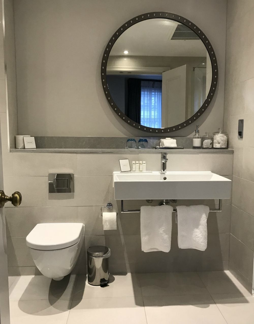 Bathroom at Harbour Hotel Bristol Heatheronhertravels.com