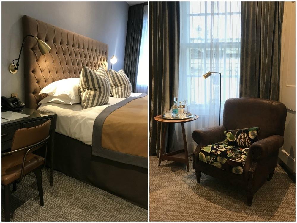 Bedroom at Harbour Hotel Bristol Heatheronhertravels.com