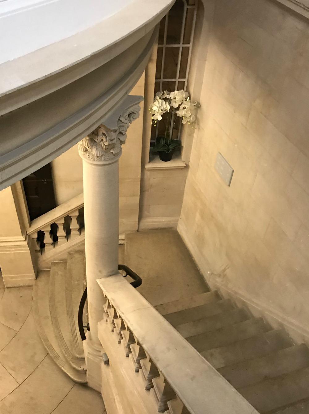 Bristol Harbour Hotel stairway Heatheronhertravels.com
