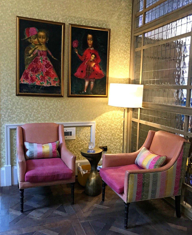 Reception at Bristol Harbour Hotels Heatheronhertravels.com
