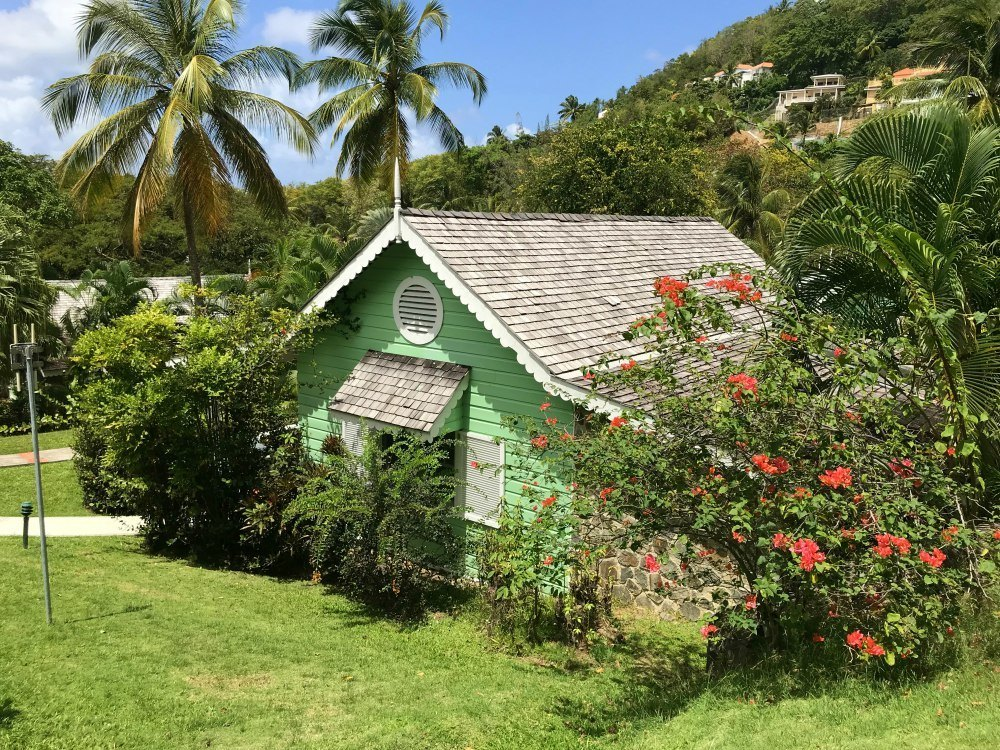 Staying at East Winds in St Lucia Photo: Heatheronhertravels.com
