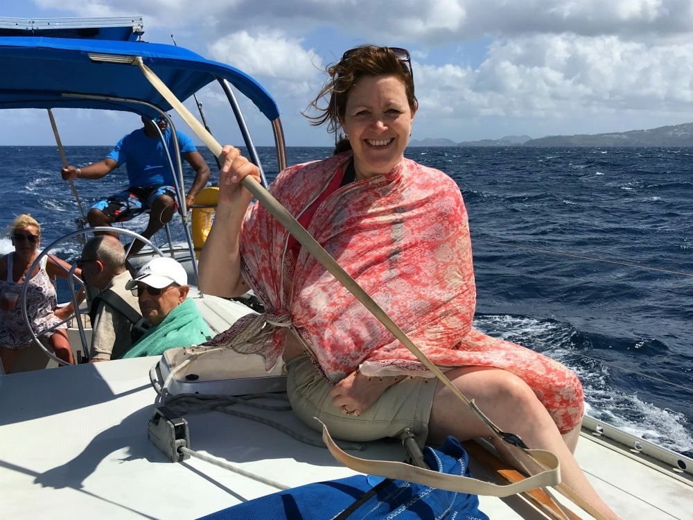 Sailing trip from East Winds St Lucia - Things to do in St Lucia Photo Heatheronhertravels.com