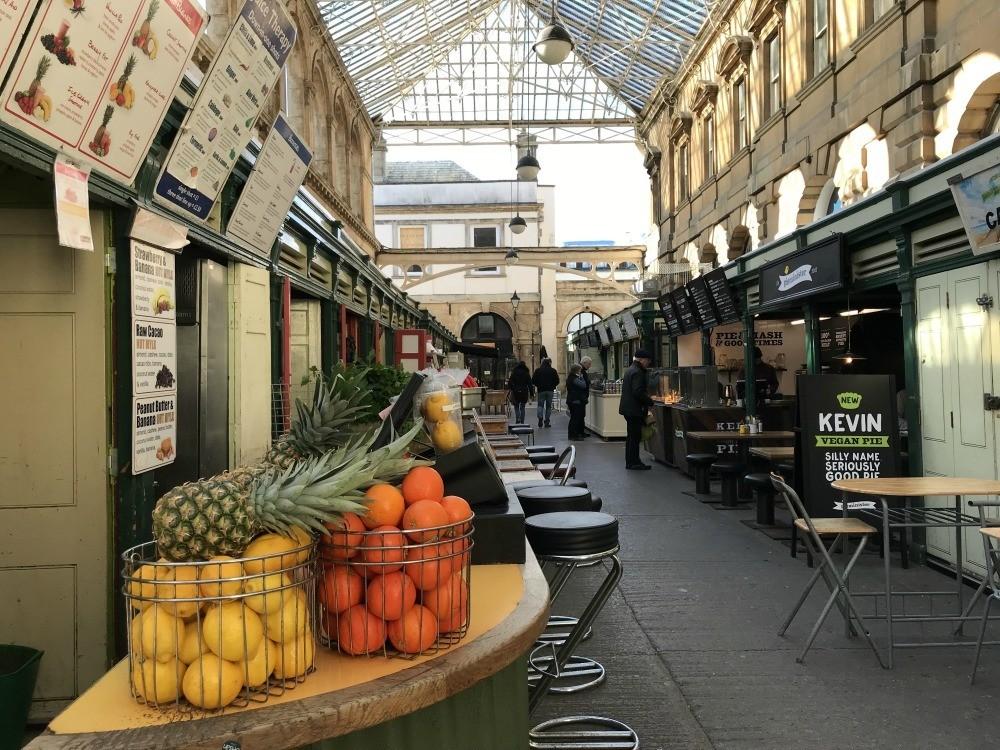St Nicholas market in Bristol Heatheronhertravels.com
