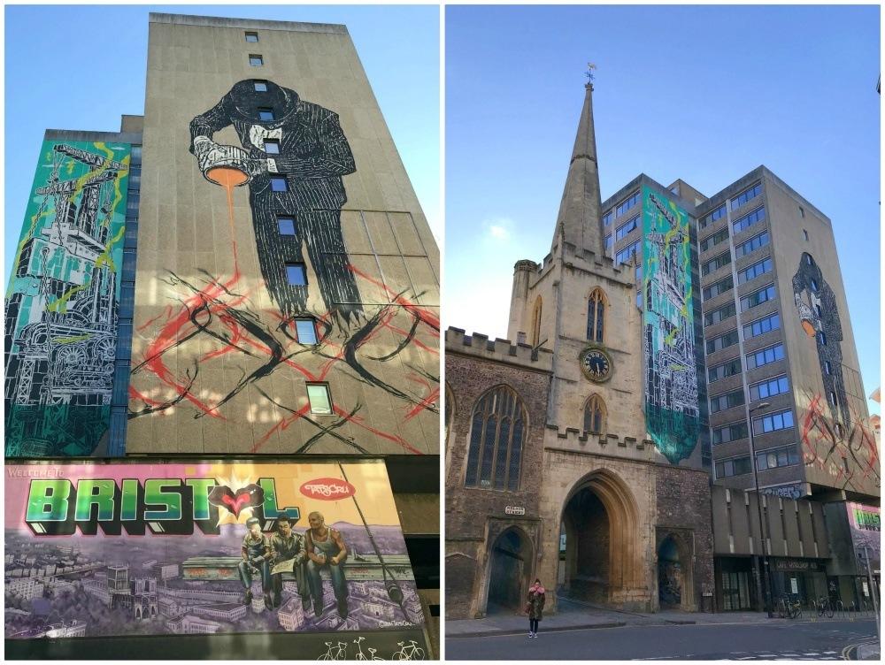 Streetart on Nelson St Bristol Heatheronhertravels.com