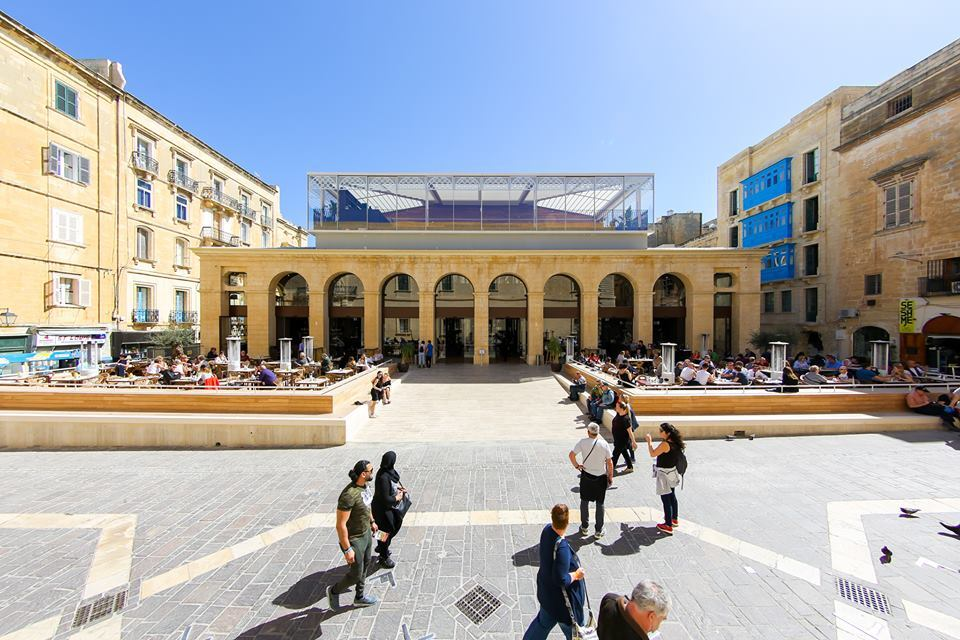 What to do in Valletta for a day - Is-Suq Tal-Belt food market in Valletta