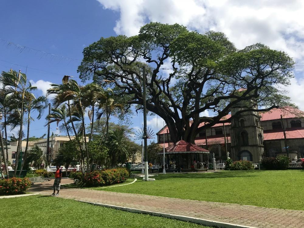 Derek Walcott Square - Things to do in St Lucia Photo Heatheronhertravels.com