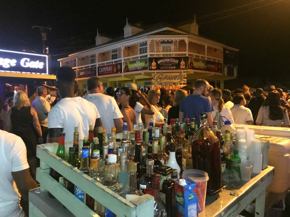 Gros Islet Street Party in St Lucia - Things to do in St Lucia Photo Heatheronhertravels.com