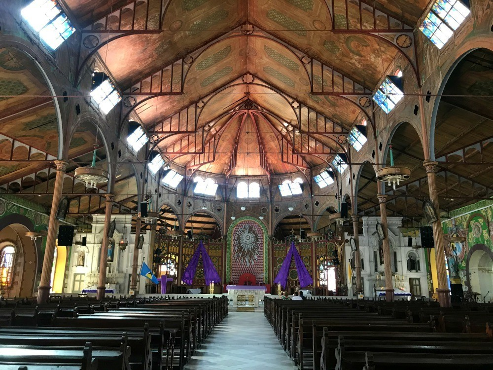 Immaculate Conception Church - top St Lucia things to do - Things to do in St Lucia Photo- Heatheronhertravels.com
