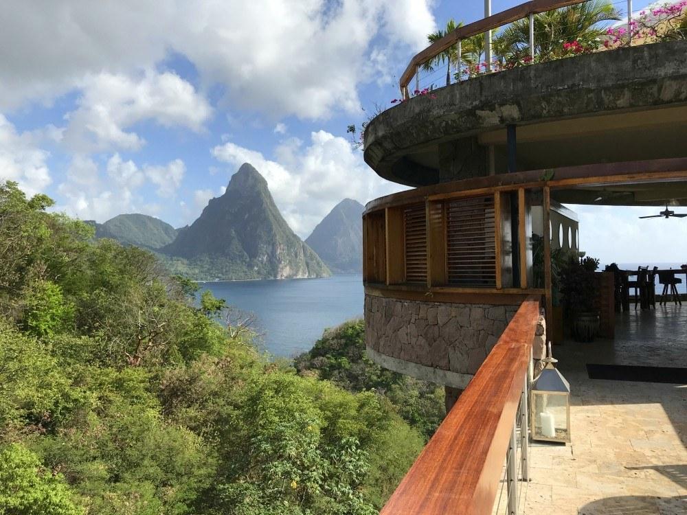 Jade Mountain on St Lucia Photo Heatheronhertravels.com
