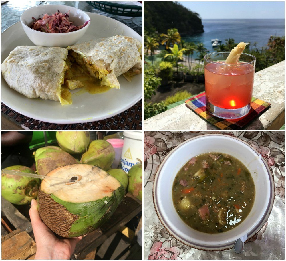 Local dishes on St Lucia - Things to do in St Lucia Photo Heatheronhertravels.com