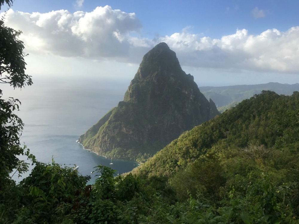Petit Piton in St Lucia - Things to do in St Lucia Photo Heatheronhertravels.com
