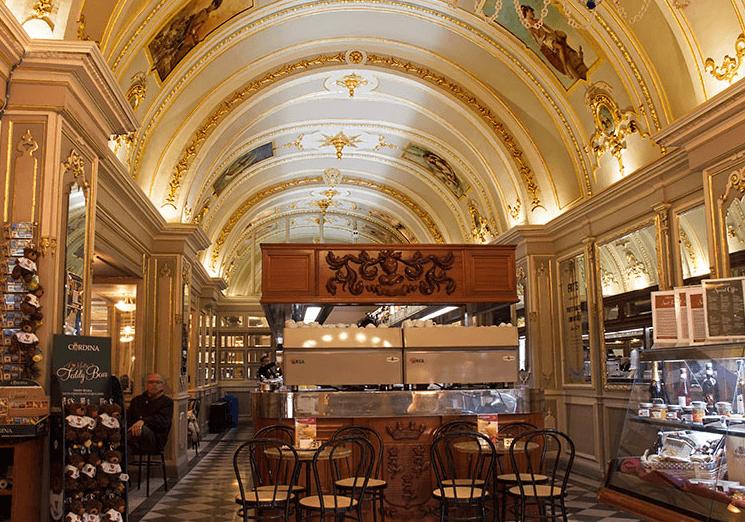 Caffe Cordina in Valletta Malta