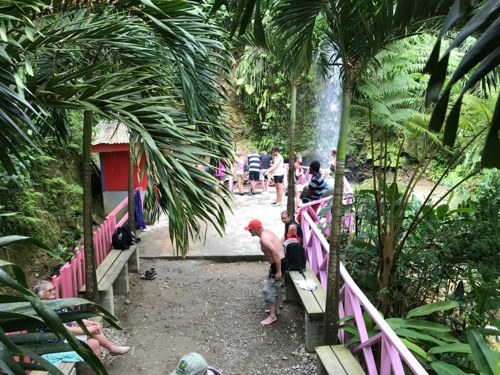 Waterfalls St Lucia - Toraille Waterfall Photo - Heatheronhertravels.com