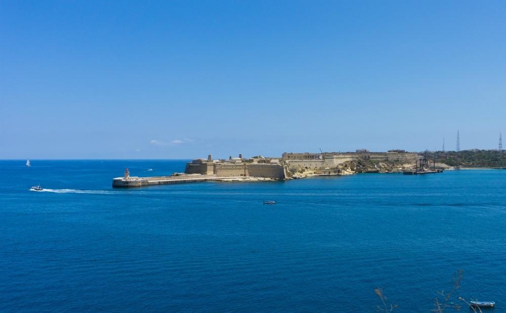 Valletta fort in Malta
