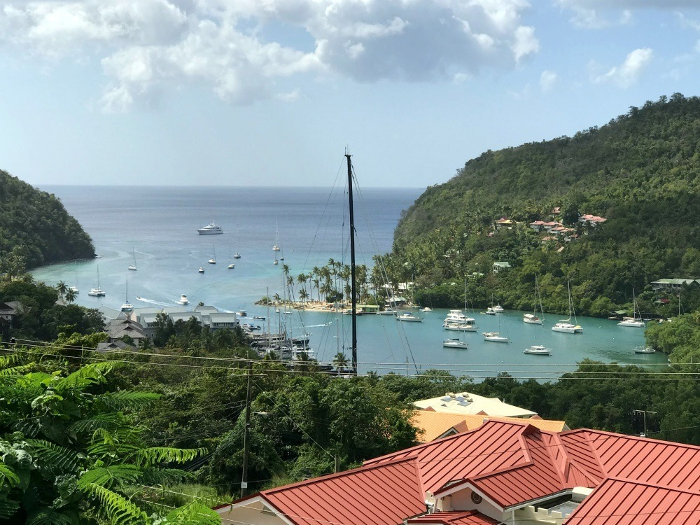 Yachts in Marigot Bay St Lucia - Things to do in St Lucia Photo Heatheronhertravels.com
