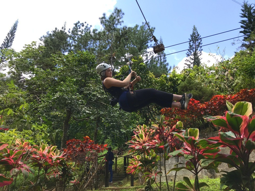Zipwire at Babonneau in St Lucia - Things to do in St Lucia Photo Heatheronhertravels.com