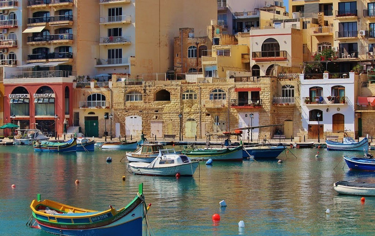 Malta from the water Source Mariamichelle cc.Pixabay