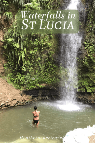 Waterfalls in St Lucia