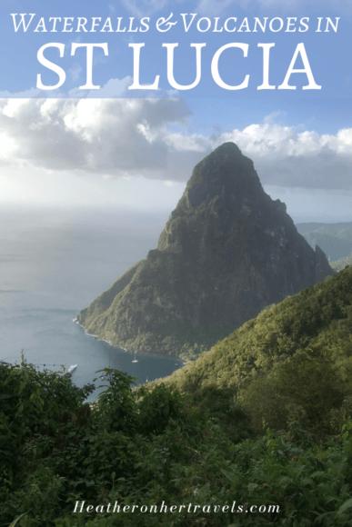 Volcanoes in St Lucia