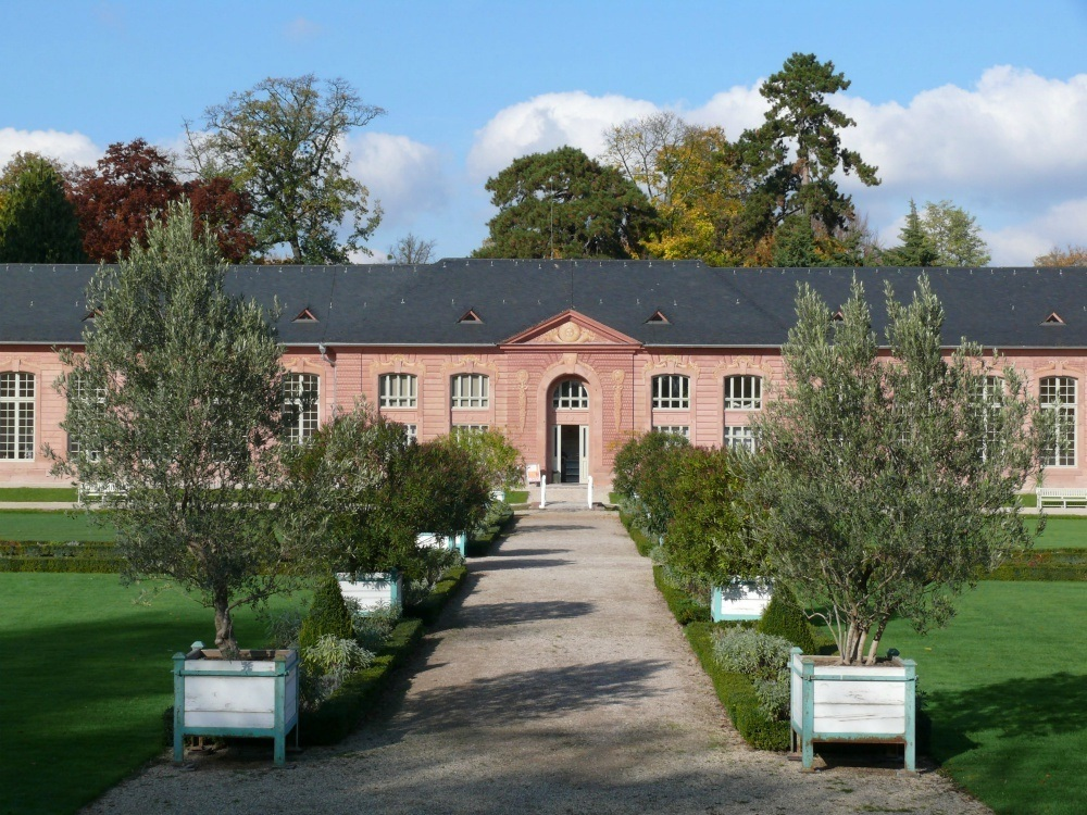 Bath house in Schwetzingen Palace and Gardens in South West Germany Photo: Arnim Weischer