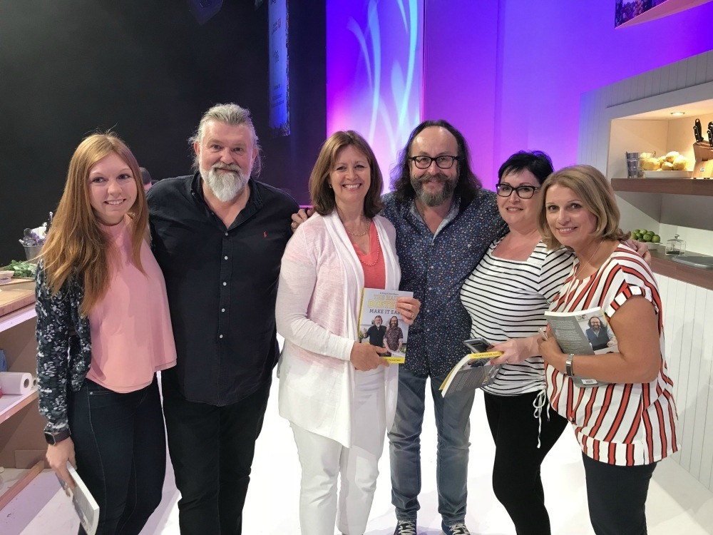 Book signing with the Hairy Bikers at BBC Good Food Show