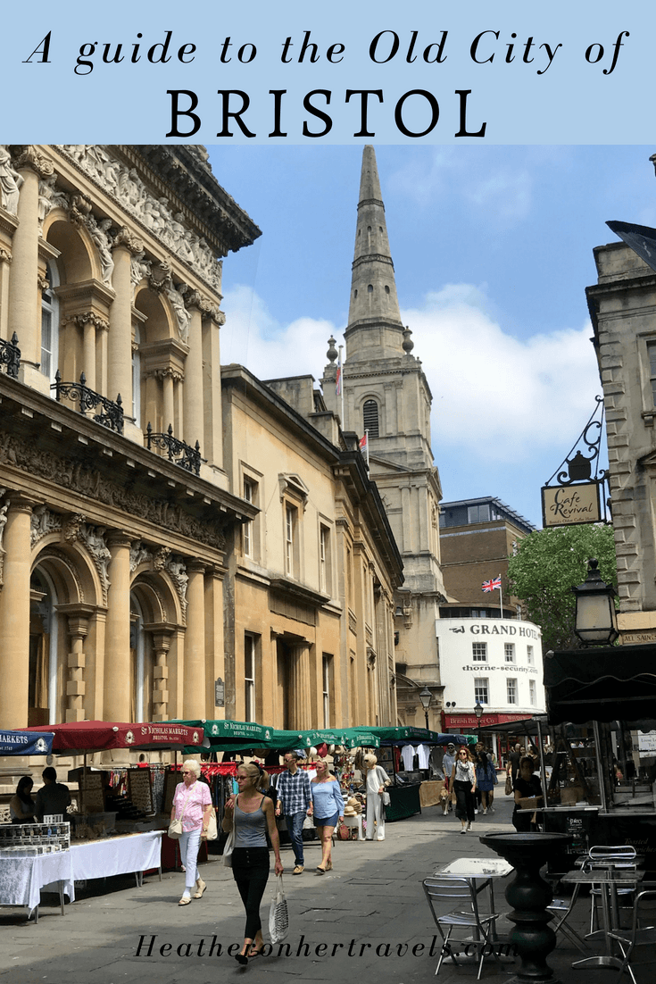 Read a guide to Bristol Old City