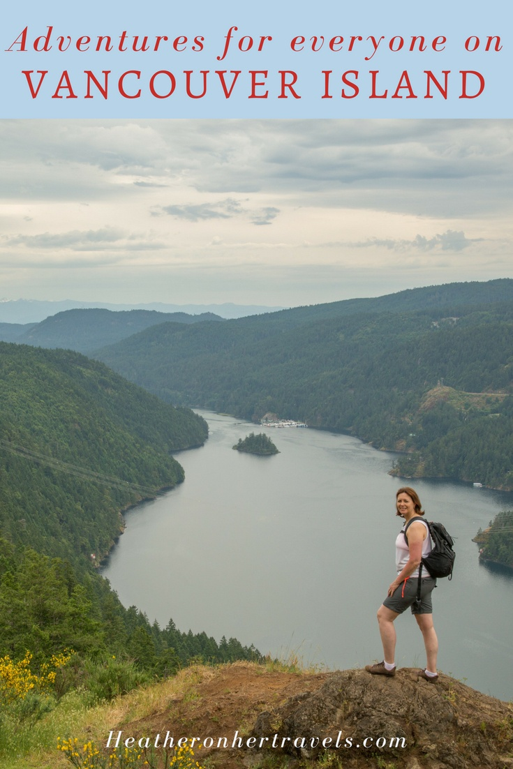 Read about Vancouver Island Adventures - outdoor activities in Canada for everyone