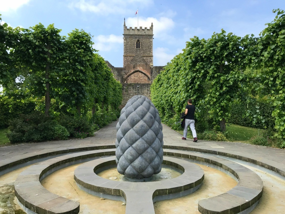 Castle Park sculpture in Bristol Photo Heatheronhertravels.com
