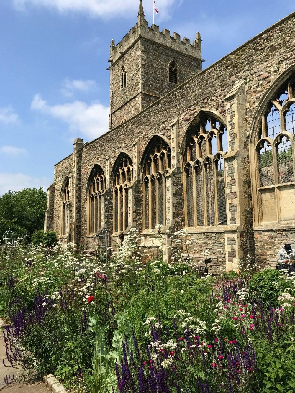 Garden in Castle Park Photo Heatheronhertravels.com