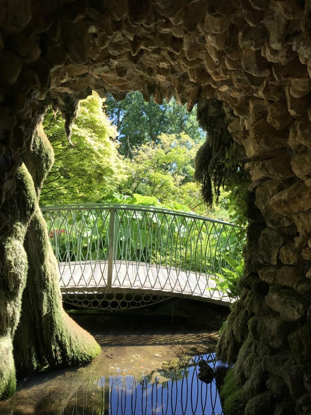 Grotto garden at Warner Hotels at Cricket St Thomas Photo Heatheronhertravels.com.jpg