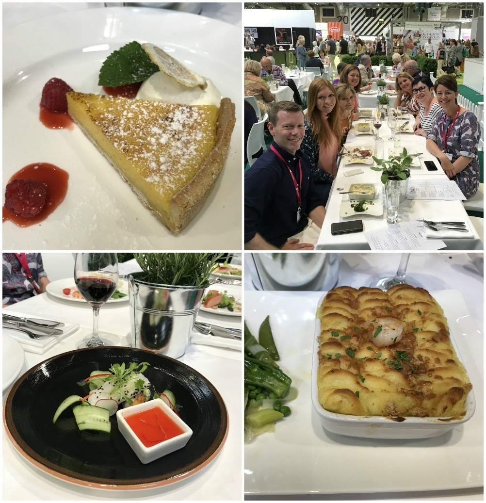 Lunch at the BBC Good Food Show